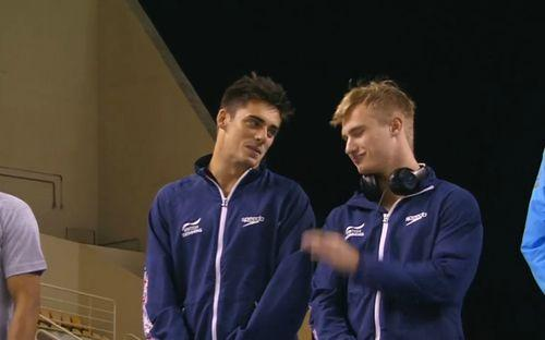Chris Mears et Jack Laugher
