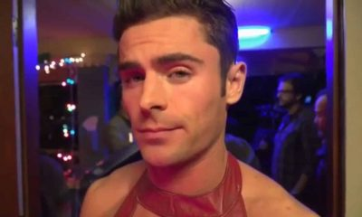 zac elfron robe rouge