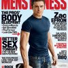 zac efron mens fitness couverture