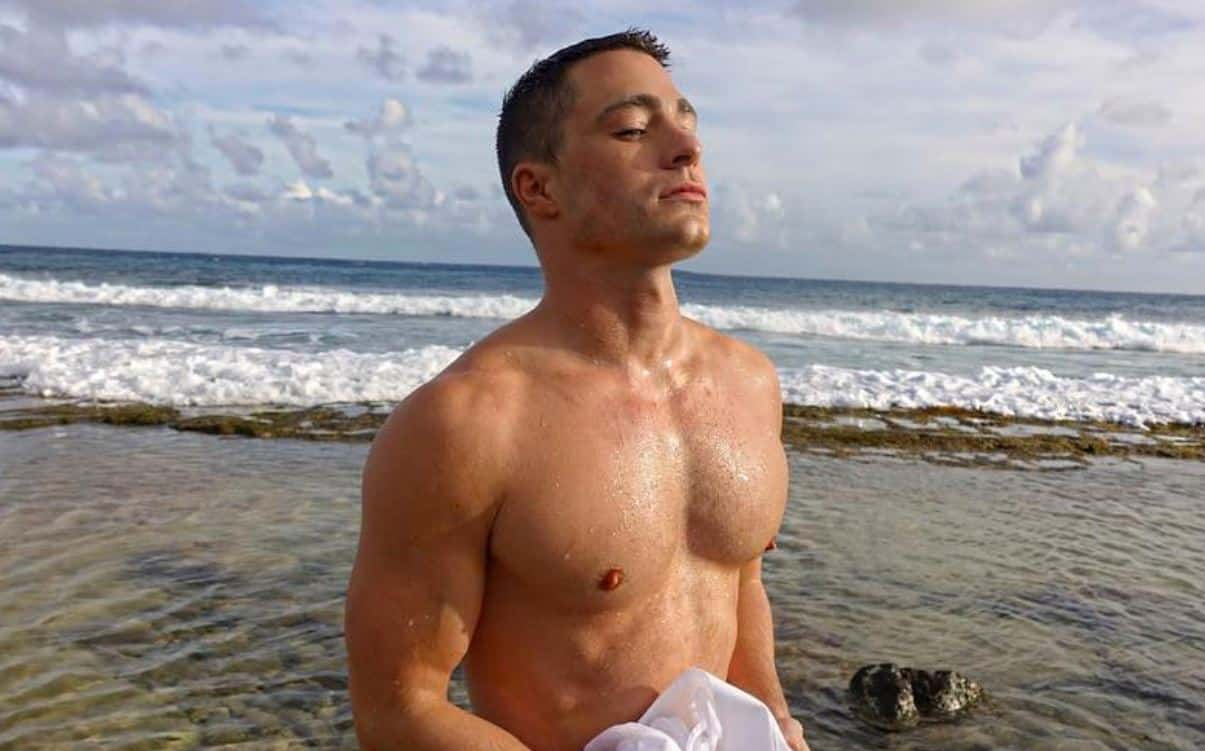 colton haynes Rough Night naked