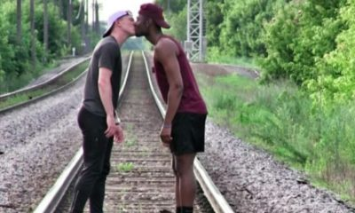 gay couple athletes film