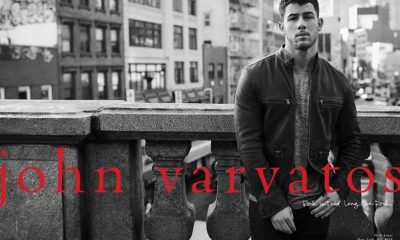 Nick Jonas Designs Collection John Varvatos