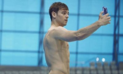 tom daley htc publicite
