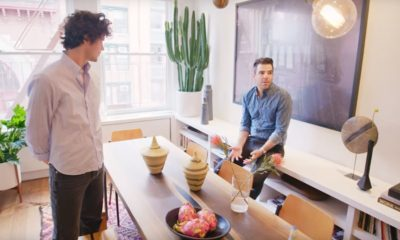 Zachary Quinto NYC Loft Architectural Digest