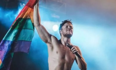 Dan Reynolds Imagine Dragons rainbow flag