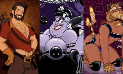 gay lgbt disney characters personnage