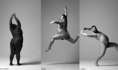 arrested Movement Series Addresses Male Body Positivity